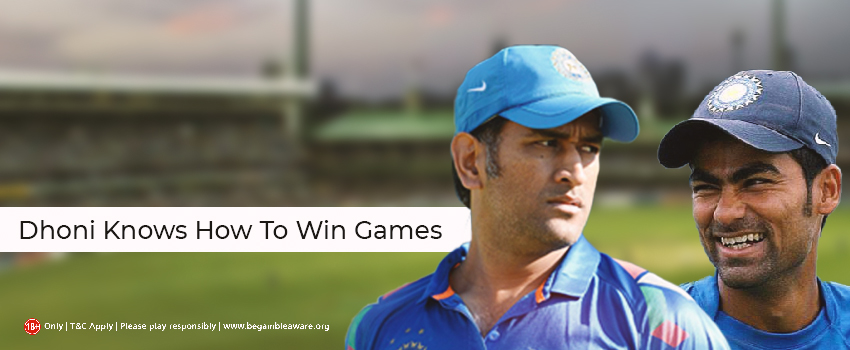 Dhoni Knows To Win Games: MS on the spotlight again