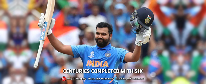 Players Who Completed Their Centuries with A Six on the Last Ball