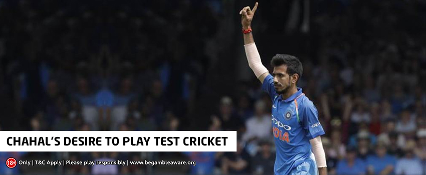 Yuzvendra Chahal Expresses His Desire to Don the Test Jersey in Future
