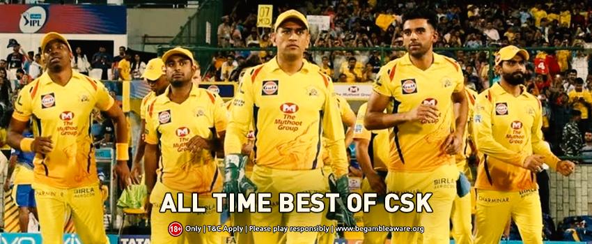 Chennai Super Kings (CSK) all-time best XI
