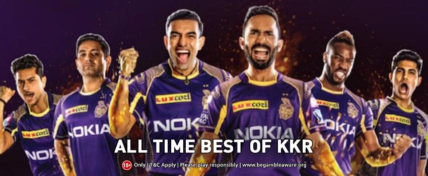 Kolkata Knight Riders (KKR) all-time XI