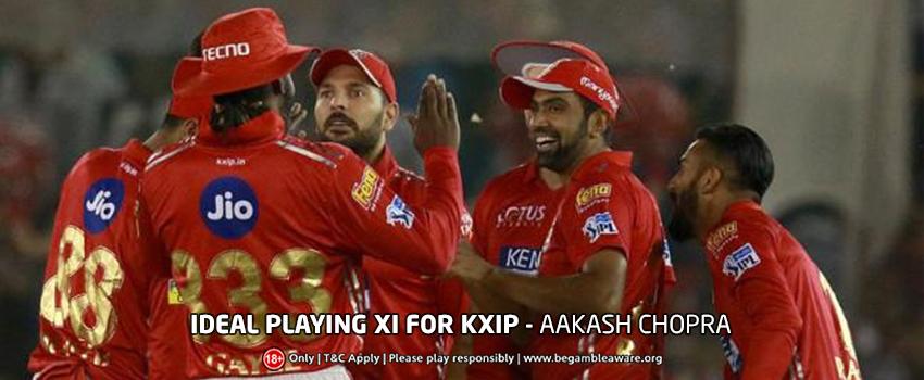 Aakash Chopra's Ideal playing XI for Kings XI Punjab