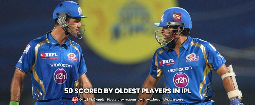 The Top 5 oldest Half-Century Scorers in the IPL