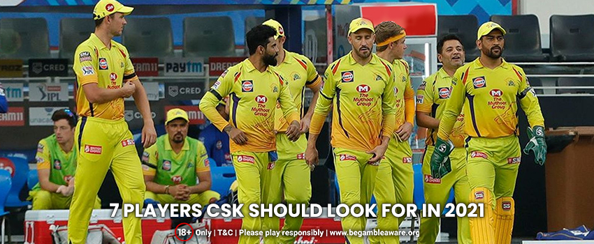 7 Players CSK Must Target For the 14th Edition of the League